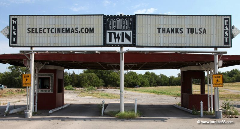 Admiral Twin Drive-In, Tulsa