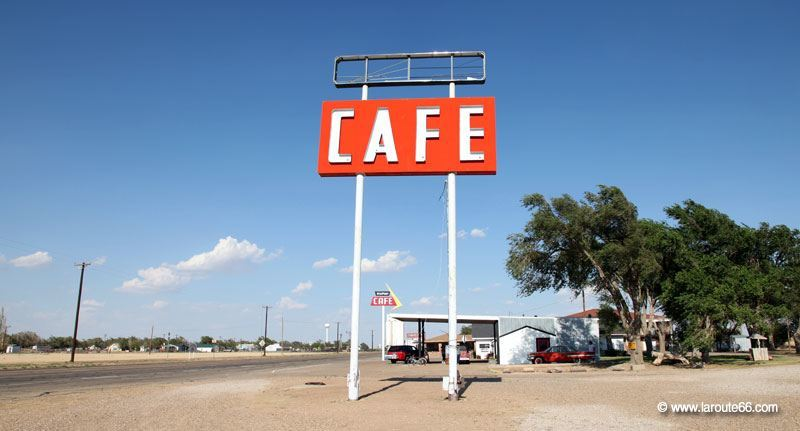 Midpoint Cafe à Adrian, Texas