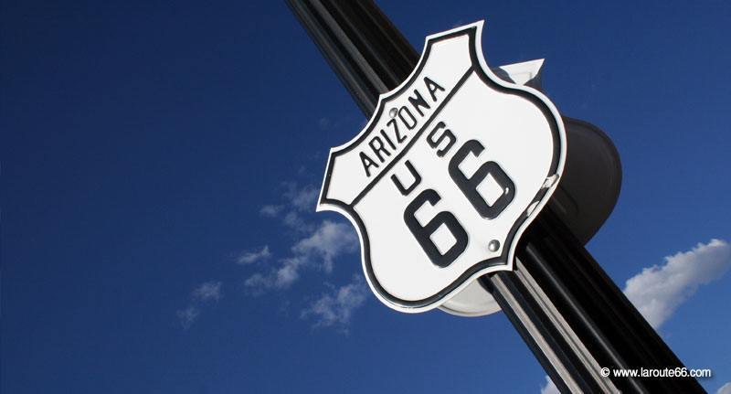 La Route 66 en Arizona