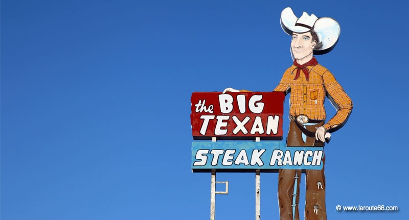 Route 66 : parcours d'un mythe américain. - Page 9 Big-texan-steak-ranch-amarillo-texas-02