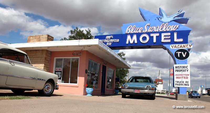 Blue Swallow Motel à Tucumcari