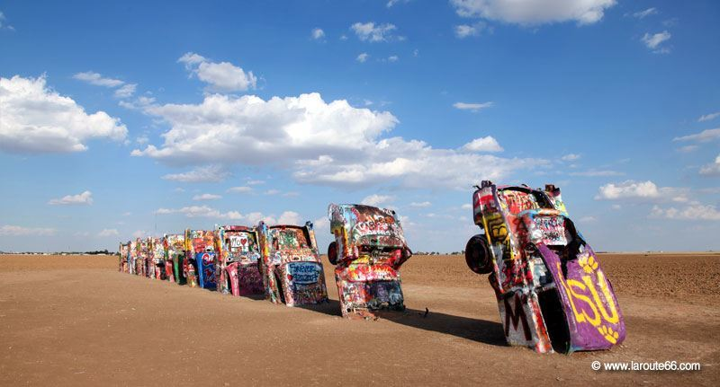 Cadillac Ranch au Texas