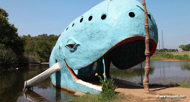 Catoosa blava balena , Oklahoma