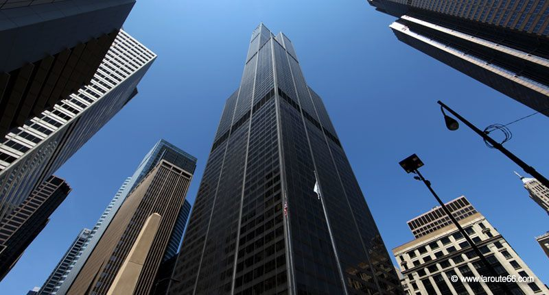 La Willis Tower à Chicago, Illinois
