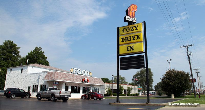 Cozy Dog Drive-In à Springfield IL