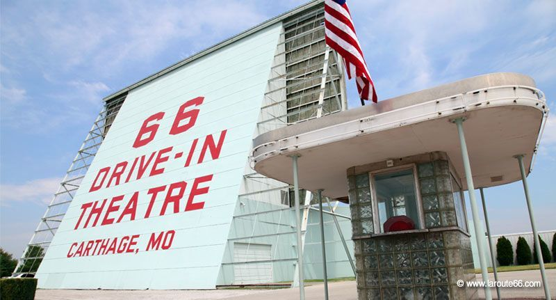 66 Drive-In à Carthage, Missouri