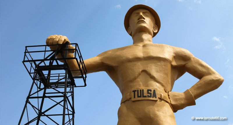 The Golden Driller, Tulsa