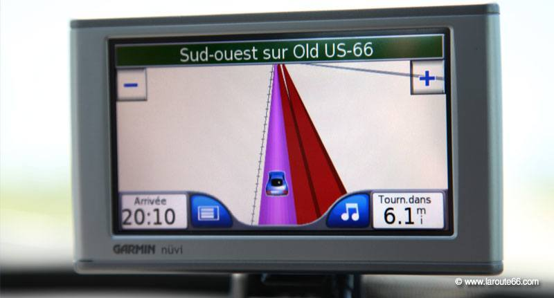 carte europe pour gps route 66
