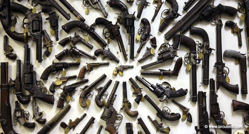 Museu de la pistola a Claremore (Oklahoma)