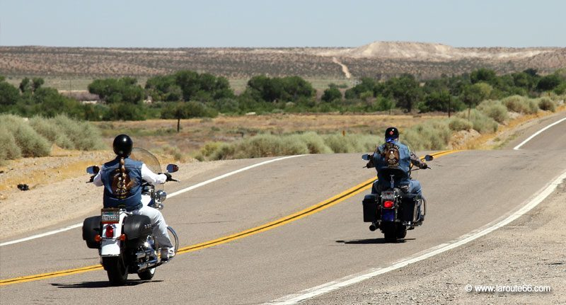 Bikers sur la Route 66