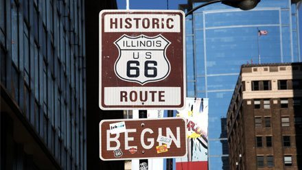 Route 66 Begin, Chicago