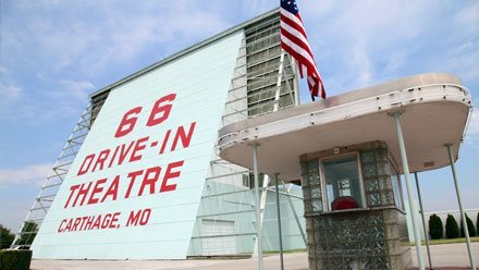 Drive-In Theaters sur la Route 66