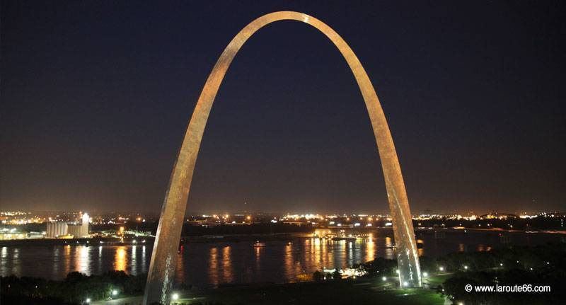 Gateway Arch à Saint-Louis (Missouri)