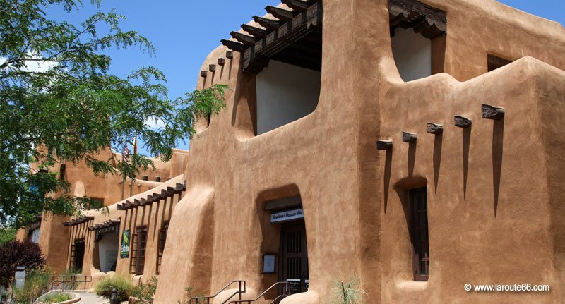 la route 66 au nouveau mexique santa fe et albuquerque. Black Bedroom Furniture Sets. Home Design Ideas