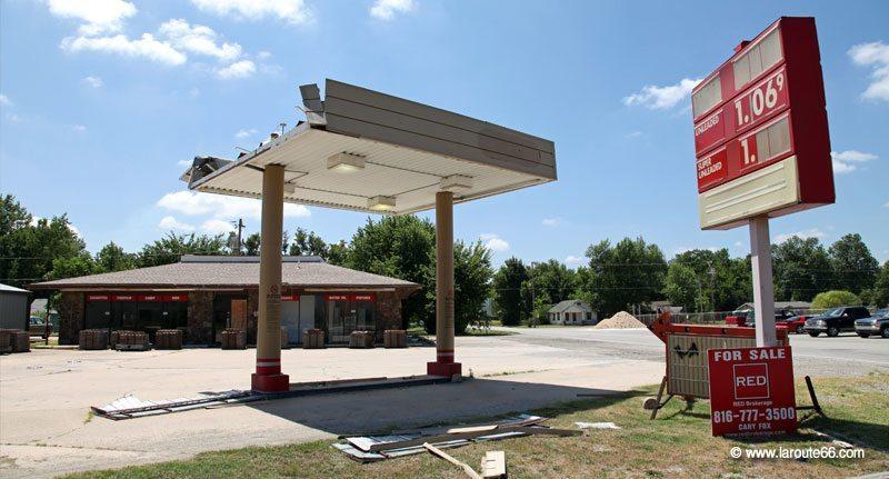 essence et stations service sur la route 66. Black Bedroom Furniture Sets. Home Design Ideas