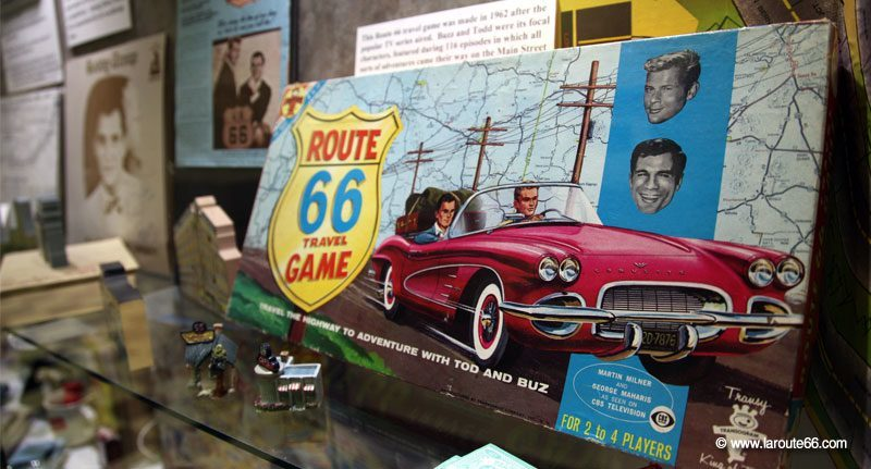 Route 66 Travel game