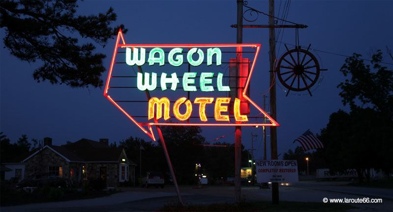 Wagon Wheel Motel à Cuba, Missouri